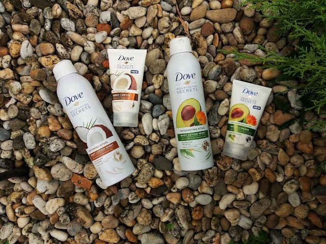 DOVE Nourishing Secrets Body Lotion & Hand Cream