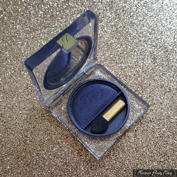 open Estee Lauder Pure Color Eyeshadow 24 Midnight compact