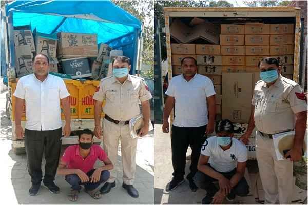 faridabad-crime-branch-sector-65-arrested-2-sharab-taskar-news