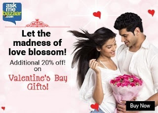Fantastic Savings on Valentine's Day Gifts – Upto 30% off + Extra 20% OFF