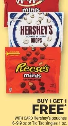 FREE Hershey's Mini Bags CVS Deals