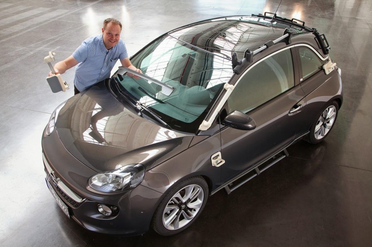 Εργαλεία από 3D Printer στη διαδικασία παραγωγής Opel - Η Ομάδα Μηχανικών Εικονικής Σχεδίασης της Opel αξιοποιεί τις δυνατότητες της τρισδιάστατης...