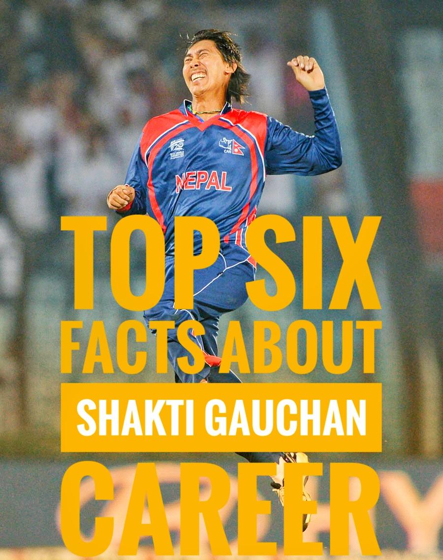 Shakti Gauchan retirement, Nepali Cricket career, Shakti Gauchan batting and bowling facts and stastics