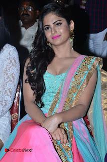Actress Naina Ganguly Stills in Long Dress at Vangaveeti Audio Launch  0052.JPG