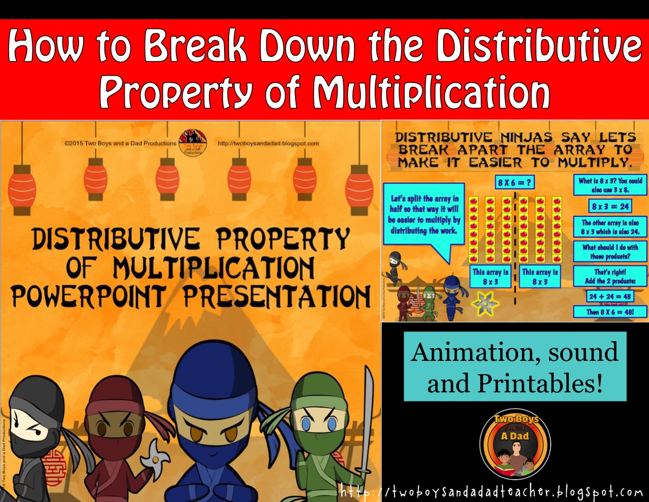 Distributive Property of Multiplication PowerPoint