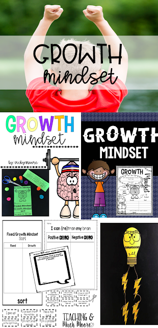 growth mindset - how to implement into your classroom, ideas, tips on growth mindset