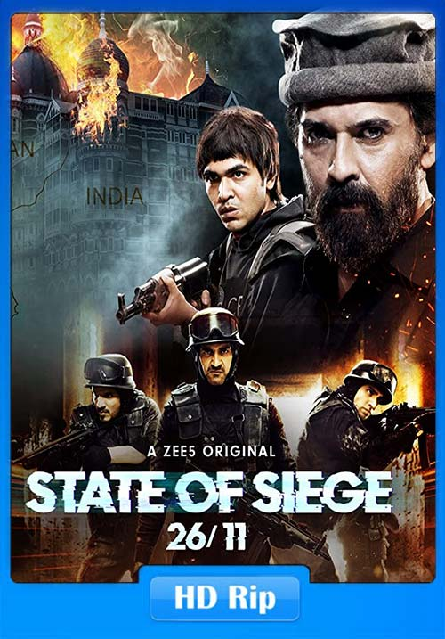 State of Siege 2611 2020 Hindi 720p HDRip x264 | 480p 300MB | 100MB HEVC Poster