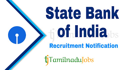 SBI recruitment notification 2020, govt jobs in India, central govt jobs, govt jobs in tamilnadu, govt jobs for graduate