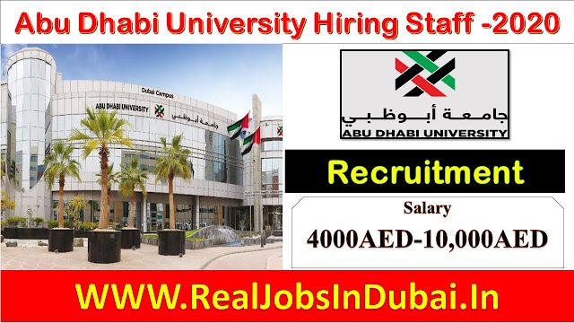 Teaching Jobs In Dubai | Jobs For Teachers In Dubai | Abu Dhabi University Careers |
