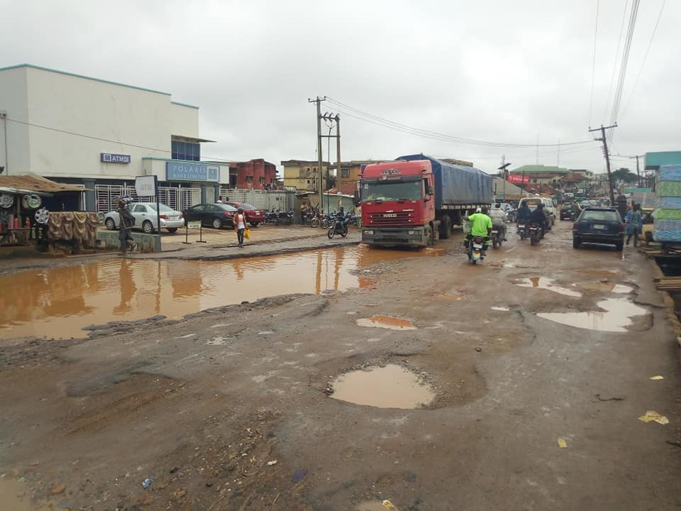 Ogbomoso Residents Cry Out To Oyo State Gov Over The State Of Roads (Pictures) 2