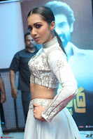 Catherine Tresa in Beautiful emroidery Crop Top Choli and Ghagra at Santosham awards 2017 curtain raiser press meet 02.08.2017 038.JPG