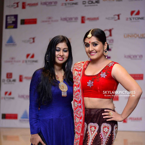 Sarayu Mohan latest photos from International Fashion Week Kochi