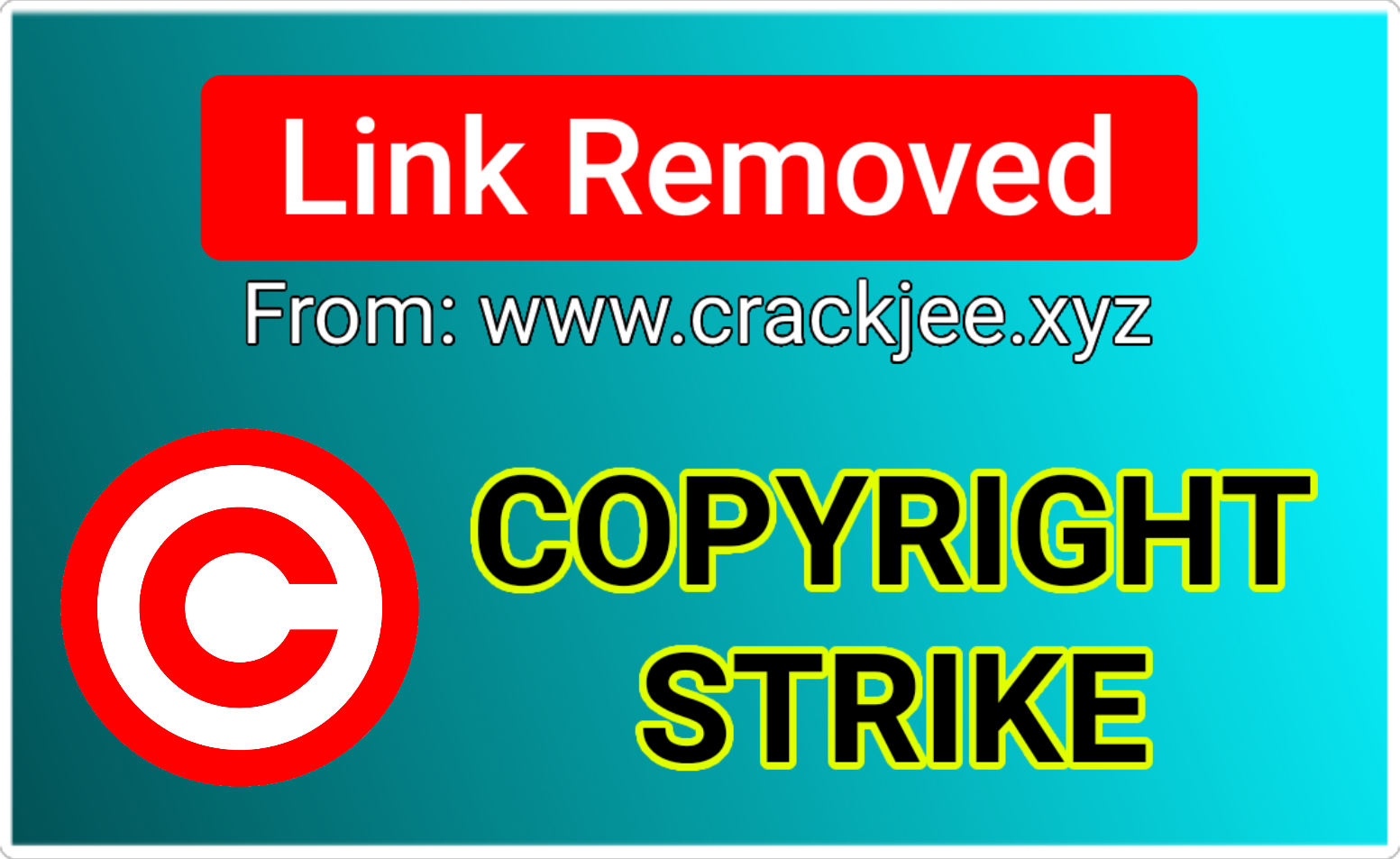 Copyright Strike