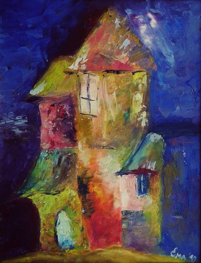 Болгарский художник. Emilia Milcheva