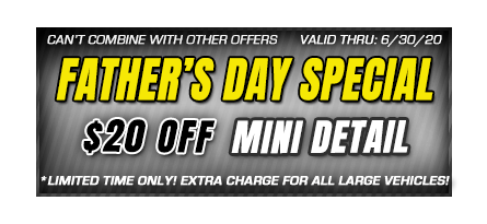 fathers day car wash savings coupon