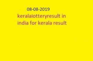 nirmal lottery sthree sakthi lottery result 2019-08-08