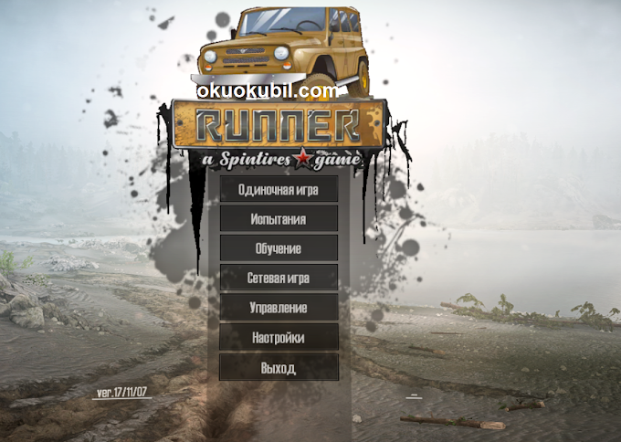 RUNNER Game Menu Oyun Menusu Yeni version 1.0 for Spintires: MudRunner İndir (v07.11.17)