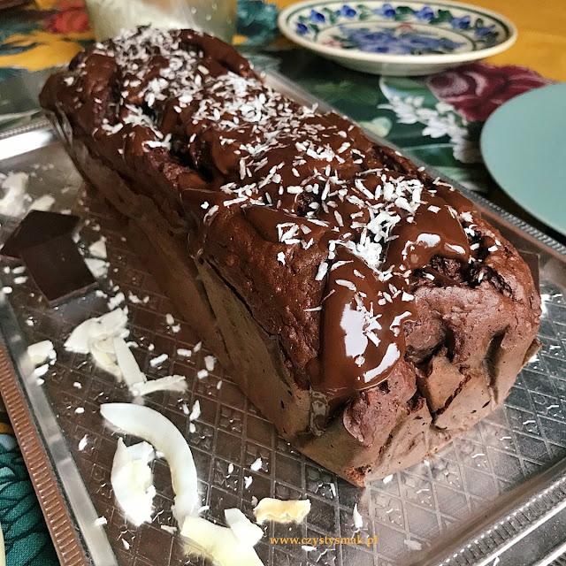 Ciasto czekoladowe z niskim indeksem glikemicznym