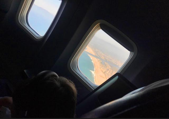 plane trip with kids