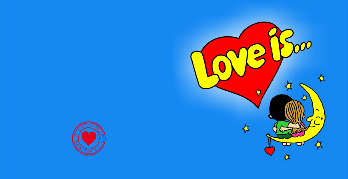 шаблон фотокниги Love is для влюбленных купить