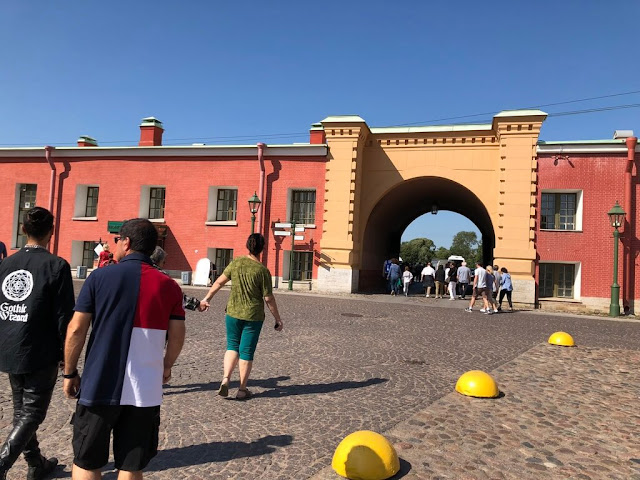 Fortaleza de Pedro e Paulo - S. Petersburgo