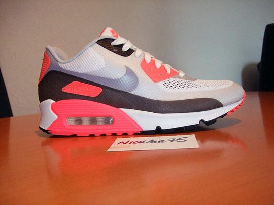 bas prix e26dd d8bb5 Nike Air Max 90 Hyperfuse 'Infrared' - Hannah Louise Fashion