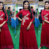 Yashu Mashetty Red Floor Length Salwar