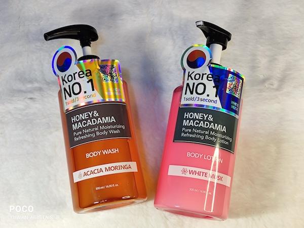 Review Kundal Body Wash Acacia Moringa dan Body Lotion White Musk