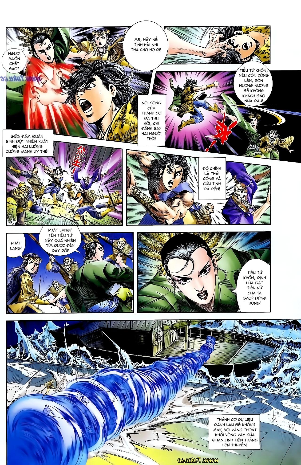 Cơ Phát Khai Chu Bản chapter 128 trang 21