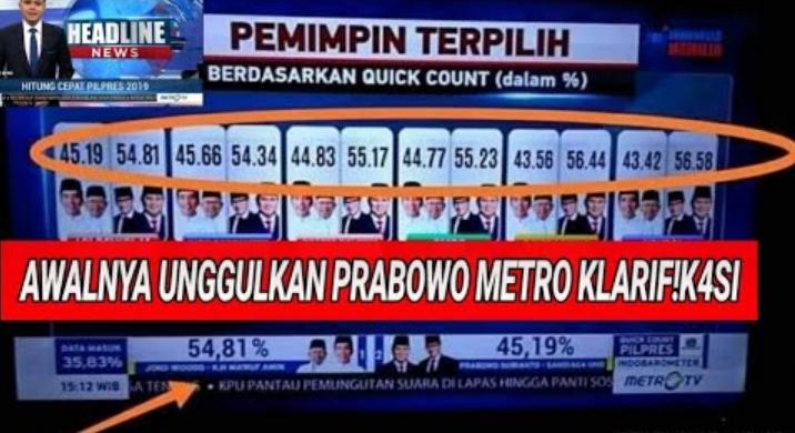 Quick Qount  metro tv