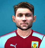 PES 6 Faces James Tarkowski by Gabo CR Facemaker