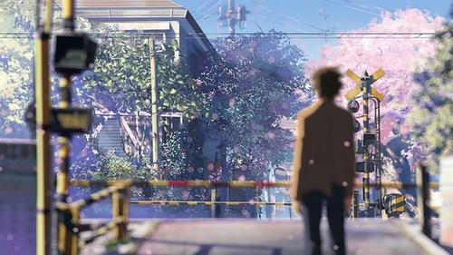 Byousoku 5 Centimeter di Rekomendasi Anime Romance - Drama Terbaik