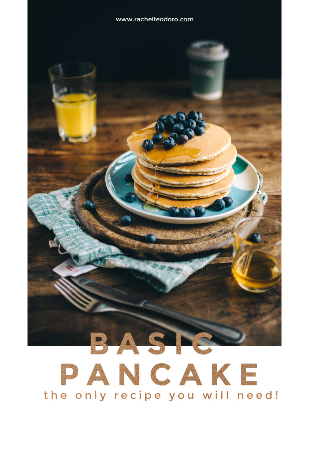 the best basic pancake recipe