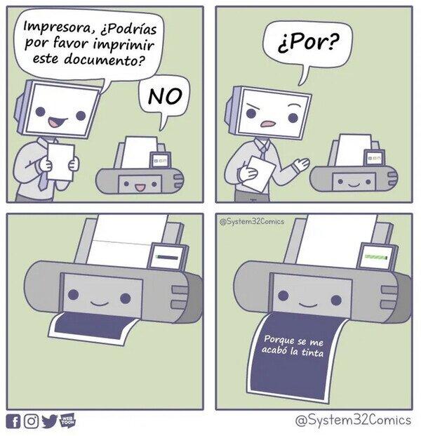 impresora troll