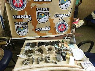 Operação da Cipe Chapada desarticula e prende quadrilha