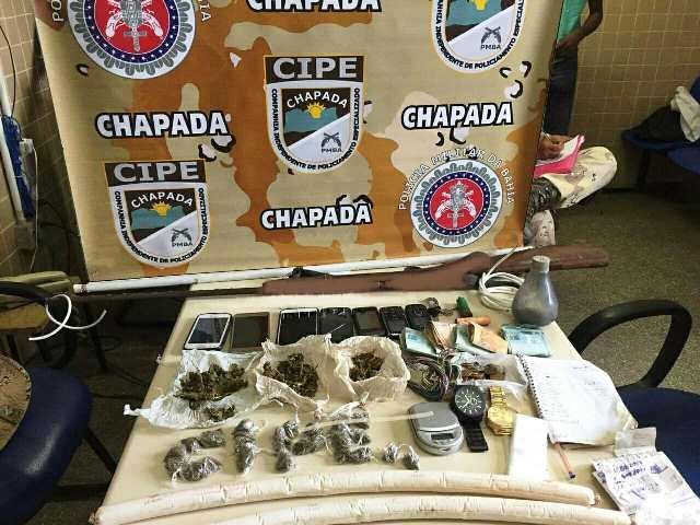 Operação da Cipe Chapada desarticula e prende quadrilha em Novo Horizonte