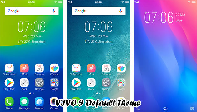 VIVO Smartphone Theme: VIVO 9 Default Theme - RQA WORLD