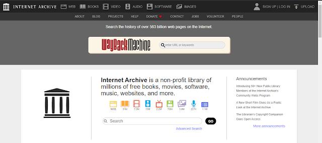 The Internet Archieve