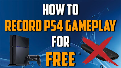 Cara Merekam Video Games Di PS4