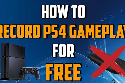 Cara Merekam Video Games Di PS4