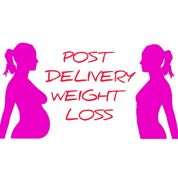 How to loose post delivery weight safely?