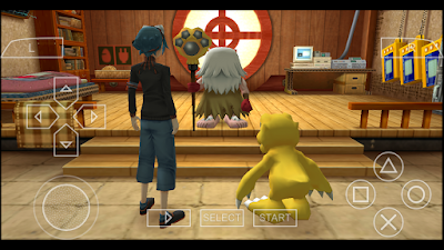 تحميل لعبة Digimon World Re Digitize لأجهزة psp ومحاكي ppsspp