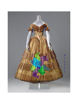 Dutch Dress 1850s Lily Lilies