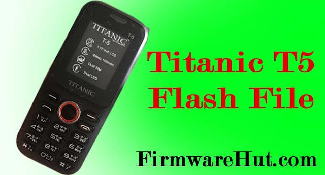 Titanic T5 Flash File pic