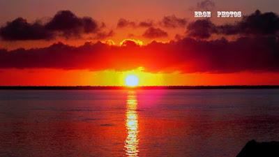 Nascer Sol Visto dos Molhes