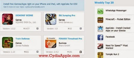 List of Websites to Download Cracked iPAS for iOS : CydiaApple
