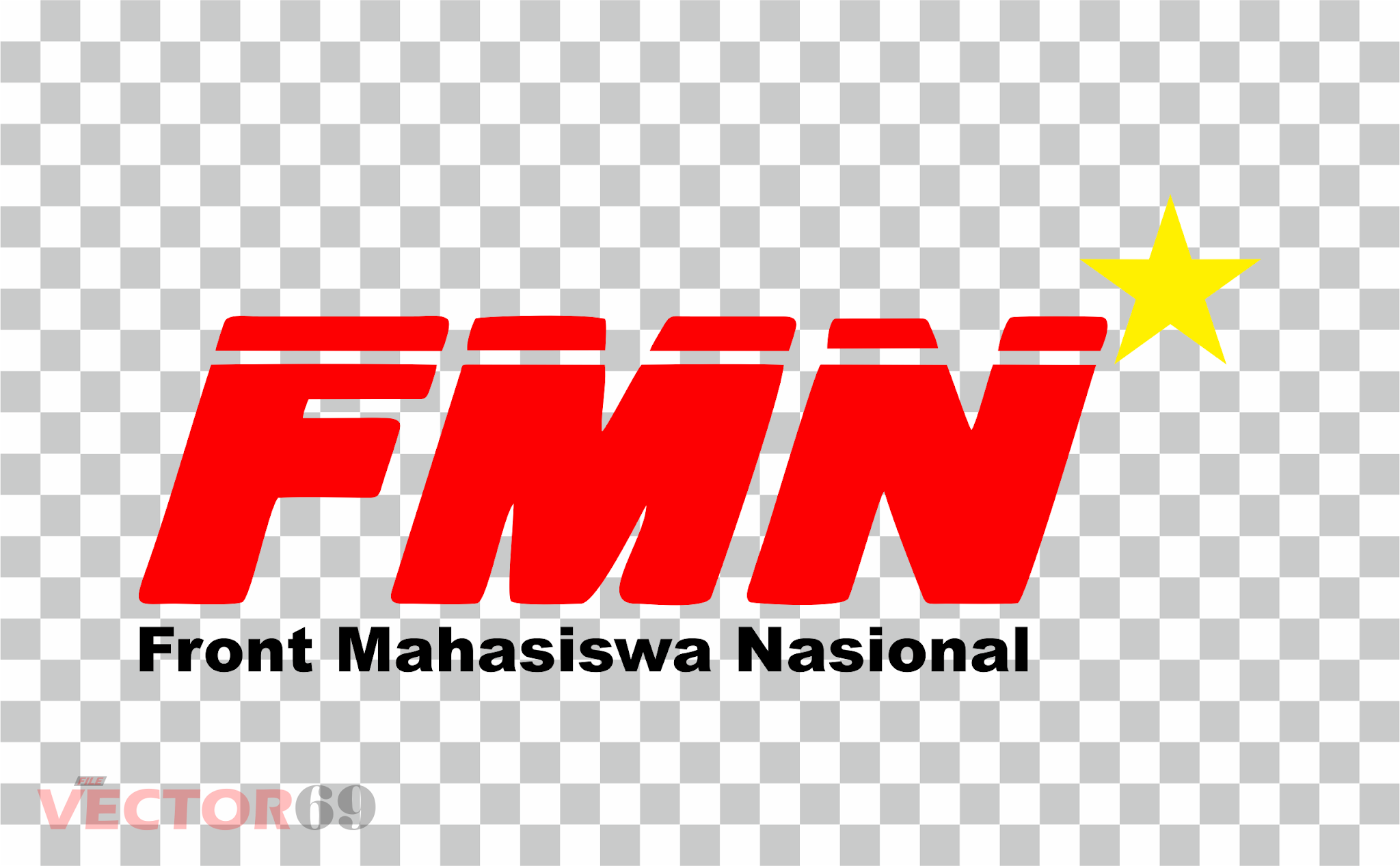 FMN (Front Mahasiswa Nasional) Logo - Download Vector File PNG (Portable Network Graphics)