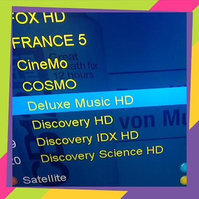 Fréquence de Deluxe Music HD sur Astra 19°  2020-2021