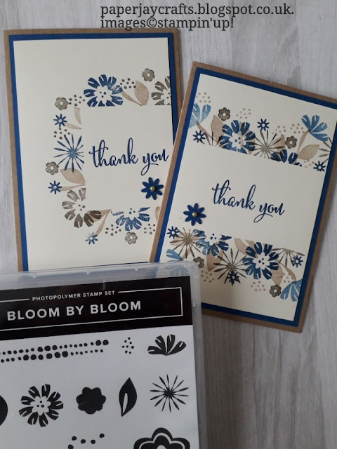 Bloom by Bloom Thank You Stampin Up