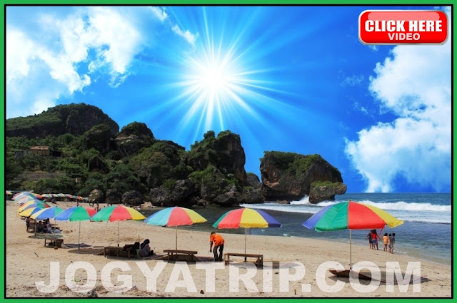Jogja trip travel, Siung Beach Jogyakarta, Siuang beach story, Jogja tour driver, price of siung beach tickets, Jogja tripadvisor
